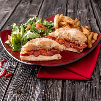 Sandwich au Chouriço