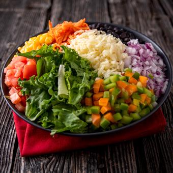 Piri bol végétarien
